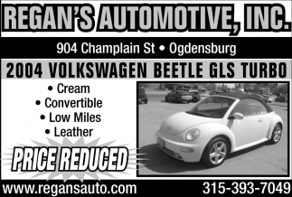 2004 Volkswagen Beetle GLS Turbo