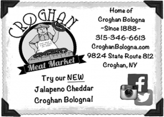 Try Our New Jalapeno Cheddar Croghan Bologna
