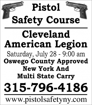 Pistol Safety Course