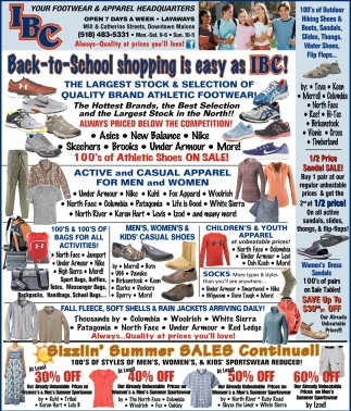 Back To School Shopping Is Easy As IBC!