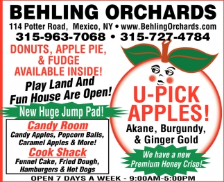 U-Pick Apples!