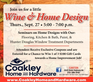 Wine & Home Design