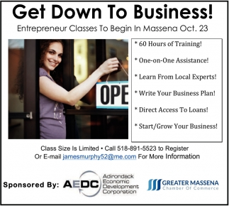 Get Down To Business!