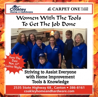 Women With The Tools To Get The Job Done