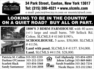 Looking To Be In The Country On A Quiet Road? Buy All Or Part.