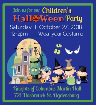 Join Us For Our Children's Halloween Party