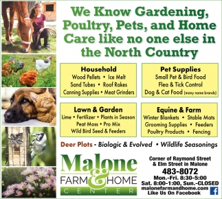 We Know Gardening, Poultry, Pets, And Home Care