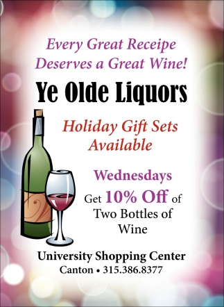 Holiday Gift Sets Available