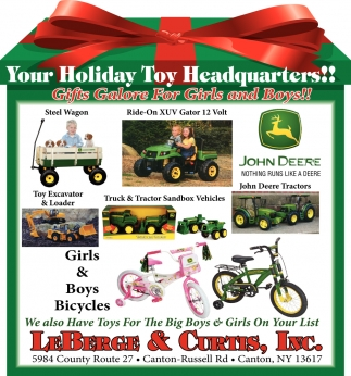 Your Holiday Toy Headquarters!!