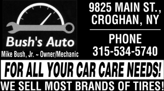 For All Your Car Care Needs!