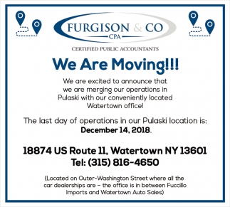 We Are Moving!!