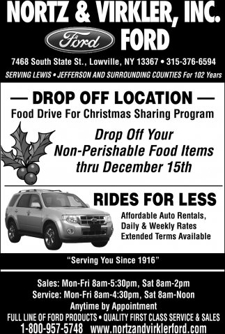 Drop Off Location
