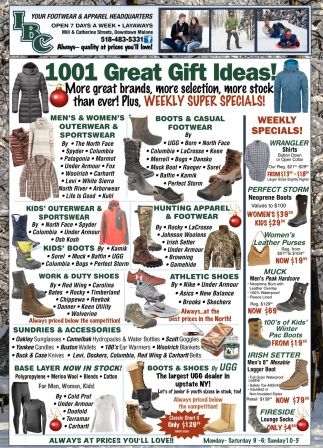 1001 Great Gift Ideas!