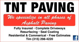 We Specialize In All Phases Of Asphalt Paving