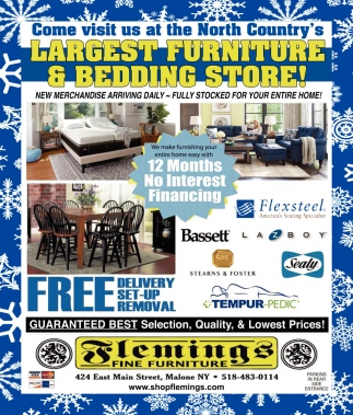 Largest Furniture & Bedding Store!