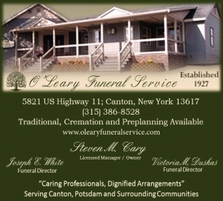 Traditional, Cremation And Preplanning Available