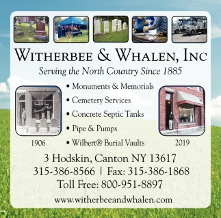 Serving The North Country Since 1885