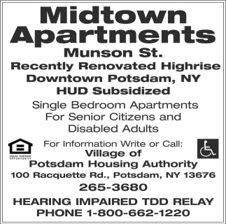 Single Bedroom Apartments For Senior Citizens And Disable Adults