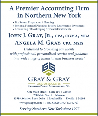 A Premier Accounting Firm In Northern New York