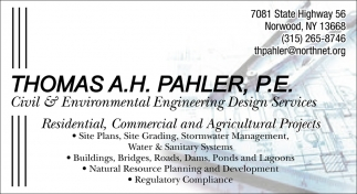Residential, Commercial And Agricultural Projects