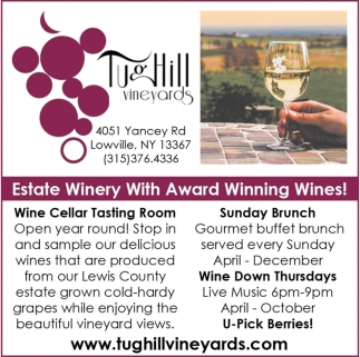 Estate Winery With Award Winning Wines!