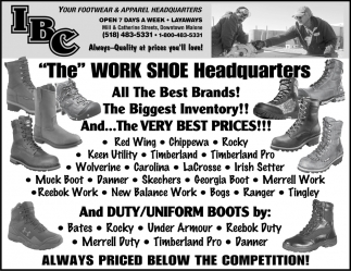 Your Footwear And Apparel Headquarters