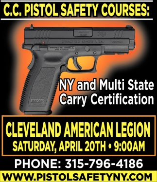 NY And Multi State Carry Certification